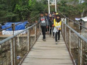 Jembatan Pantai Sayang Heulang