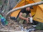 Tenda Camp di Pantai Sayang Heulang