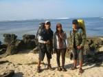 Gw, Rina & Cepi (Pantai Sayang Heulang )