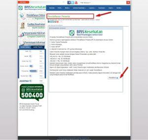 Halaman Petunjuk Pendaftaran